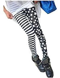 LSWA Destressed Jeans Leggings in Röhr Hose Jeans destroy Tattoo Look Wasch Effekt LG2014