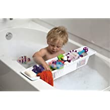 Baby Dan 40804085-00-85 - Cesto para bañera (largo regulable), color blanco