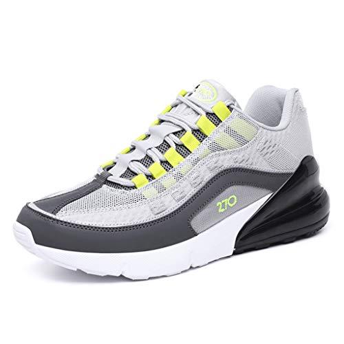 LILICAT✈✈ Hombre Zapatos para Caminar Zapatillas Deporte Hombre Zapatos para Correr Athletic Cordones Zapatillas de Deporte Respirable para Correr Deportes Zapatos Running Hombre