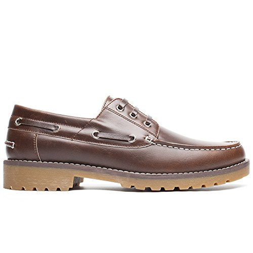 Shoes da Marrone Boat Cestfini Scarpe Uomo Stringate Scarpe Barca HZwqgxOaB