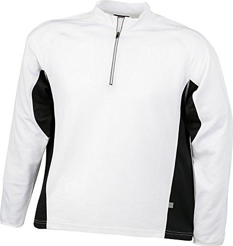 Men's Running Shirt im digatex-Bundle White/Black