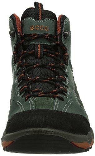 ECCO Ulterra, Stivali da Escursionismo Uomo Blu (Blau (BLACK/GREEN GABLES/PICANTE 58727))