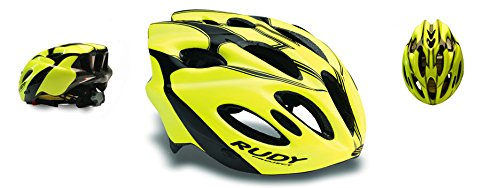 Rudy Project Casco Snuggy, Yellow Fluo/Black (Shiny) (S-M 54-58)