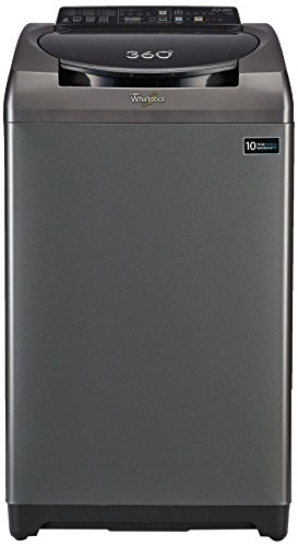 Whirlpool 7.5 kg Fully-Automatic Top Loading Washing Machine (360 Degree Bloomwash Ultra 7.5, Graphite)