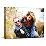 Personalized Gift For Her Canvas Print Personalized Gift For Him Canvas Print Photo On Canvas Custom Canvas Print Birthday Gift Canvas Print By SCPmarts (14 Inch X 14 Inch)