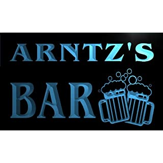 w025304-b ARNTZ Name Home Bar Pub Beer Mugs Cheers Neon Light Sign