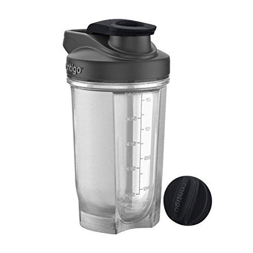 Contigo Shake and Go Fit Trinkflasche, Black, 500 ml
