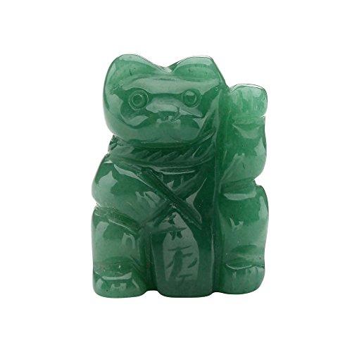 in Chinesische Glücks Katze Glückskatze Deko Glücksbringer Dekoration mit Geschenk Box, 1.5Zoll (Halloween-die Ursprünge)
