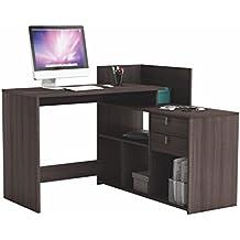 Escritorios y mesas para ordenador hogar y for Mesa ordenador amazon