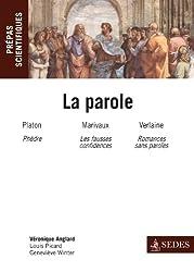 La parole - Prépas scientifiques 2012-2013