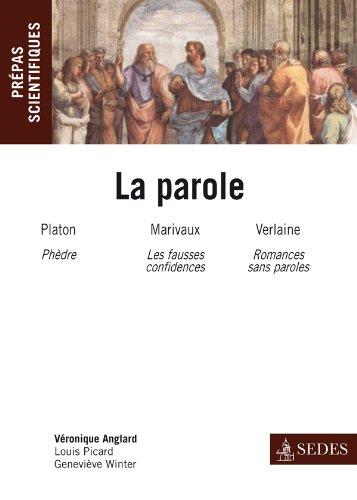 La parole - Prépas scientifiques 2012-2...