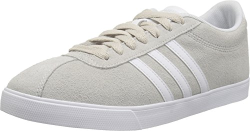 adidasCOURTSET W-W - Courtset W Damen, Weiá (White/White/PEA Green), 36 B(M) EU Adidas Oxford