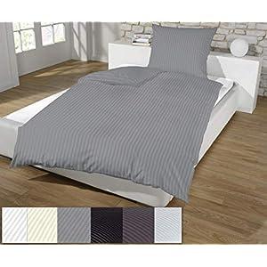 Bettwäsche Baumwolle 135200 Einfarbig Deine Wohnideende