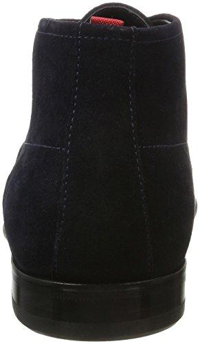 HUGO Herren Dressapp_Desb_sdfur 10201371 01 Desert Boots Blau (Dark Blue)