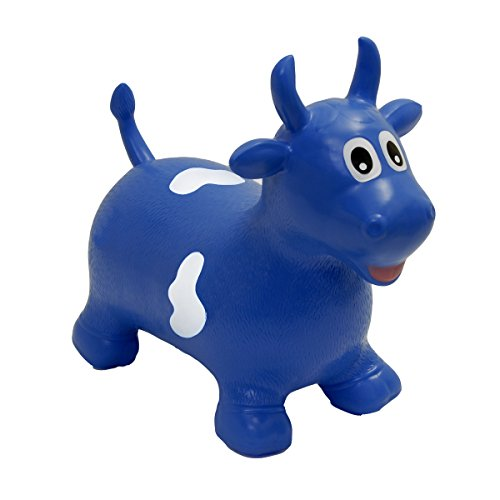 Happy Hopperz - Toro, Color Azul (HHZ09)