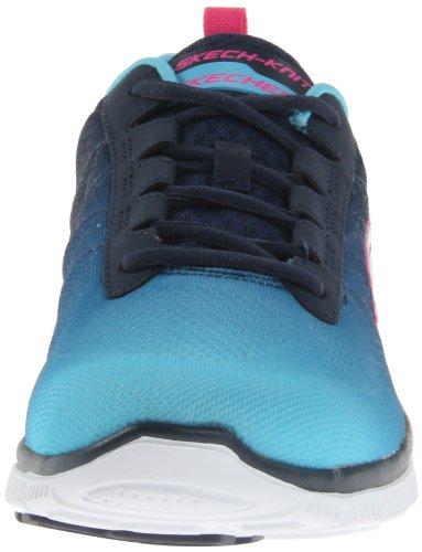 Skechers Flex Appeal Nouvelle Arrivée, Sneaker Donna Blu (blau (lbnv))