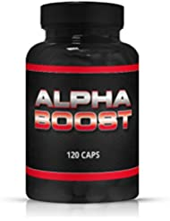 Alpha Boost - 120 Kapseln - Muscle Booster - Muskelaufbau