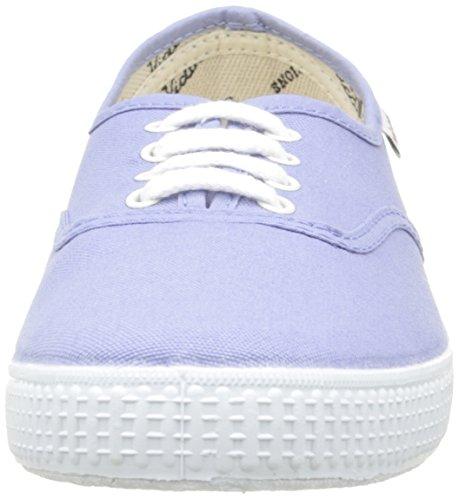 Victoria Inglesa Lona, Baskets Basses mixte adulte Bleu (190 Lavanda)