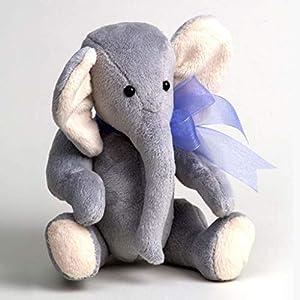 Canterbury Bears ltd 111 Grayson - Elefante Suave, Color Gris