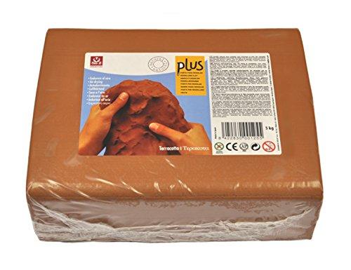 Sio2 Plus - Argilla autoindurente da modellare, 5 kg, colore:
