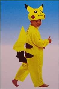 PoKeMon Kinder-Kostüm Pikachu, Größe2 (122): Amazon.de