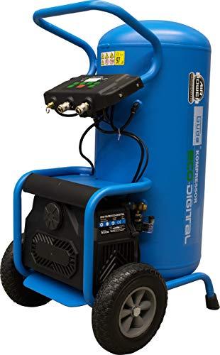 Güde 50125 250/10/80 ECO-Digital Kompressor Airpower (80l, Digitales Controllboard, Sicherheitsventil, Direktantrieb)