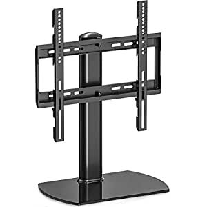 fitueyes universal tv standfu drehbar tischplatte tv st nder mit halterung f r 81 3 cm bis 127. Black Bedroom Furniture Sets. Home Design Ideas
