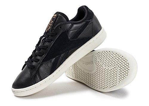 Reebok Npc Uk Ad Damen Sneaker Schwarz BLACK/CLASSIC WHITE/