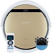 ZACO V5sPro z funkcją mopowania, automatyczne odkurzanie, mopowanie na mokro do 180 m² lub odkurzanie, do twar