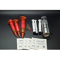 Olax 20ml Dünn, Licht Fliegenbinden Kleber, Leim Kit mit 12 LED UV Taschenlampe preisvergleich bei billige-tabletten.eu