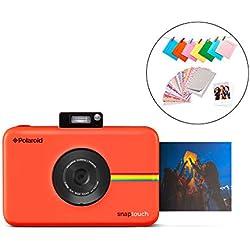 Polaroid Snap Touch 2.0 - Appareil Photo Numérique de 13 Mp, Bluetooth, Écran Tactile LCD, Vidéo 1080P et Nouvelle Application, 5 x 7,6 cm, Rouge