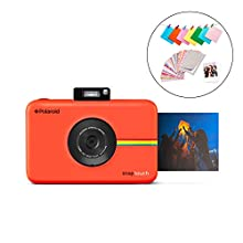 Polaroid Snap Touch 2.0 – Fotocamera digitale istantanea portatile da 13 MP, con Bluetooth integrato, display LCD touchscreen, video 1080p, tecnologia Zink Zero Ink e una nuova app, rosso