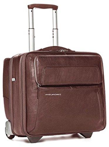 Cartable porte-ordinateur et porte-iPad/iPad®Air avec système trolley et fermeture de sécurité marron CA1452UP/MA