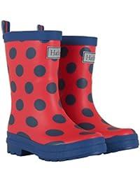 Hatley Girl's Printed Wellington Rain Boots