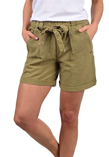 DESIRES Lina Damen Chino Shorts Bermuda Kurze Hose, Größe:L, Farbe:Sand (4073) -
