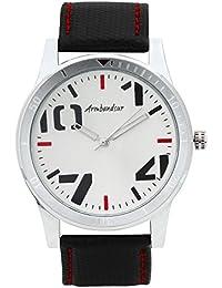 Armbandsur Analog Silver Dial Men's Watch-ABS0003MSB