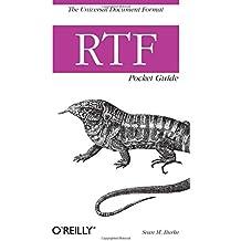 RTF Pocket Guide (Pocket Referenc)