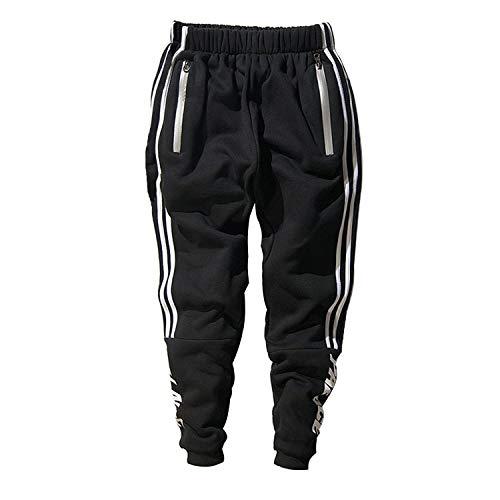 Minetom uomo cappuccio maglione moda hip hop streetwear felpa sport hoodies con sportivi casual danza pantaloni allenamento running jogging pantaloni pantaloni01 eu l