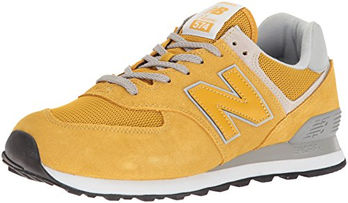 New Balance Herren Ml574E Sneaker, Gold/ML574EYW), 37.5 EU