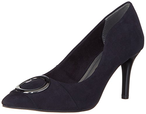 Tamaris Damen 22436 Pumps, Blau (Navy), 39 EU