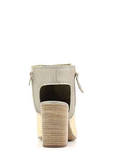 GRACE SHOES ORO 09 Sandalo tacco Donna Platino