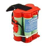Exmate 18V 2.5Ah Batterie pour Gardena R38Li R40Li R45Li R50Li R70Li R80Li, Flymo 1200R, Husqvarna Automower 105 305 308 308X, McCulloch ROB R1000 R800