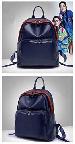 MATAGA , Damen Rucksackhandtasche Blau