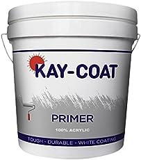 KAY-COAT - ACRYLIC PRIMER - 4 LTR (Interior / Exterior on Wall & Wood)