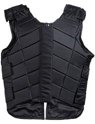 Damen Vitori - Chaleco de seguridad negro negro Talla:extra-small
