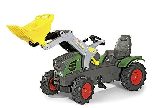 *rolly toys 611089 – rollyFarmtrac Tretbulldog Fendt Vario 211, mit Luftbereifung und Lader – Exclusiv für Fendt*