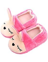 TENDYCOCO Pantofole di Coniglio di Cotone Peluche Caldo Anti Scivolo  Modello Animale Pantofole Regali di Pasqua c0eaec0bdae