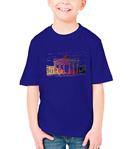 billion-group-brandenburg-gate-berlin-germany-city-collection-boys-classic-crew-neck-t-shirt-dark-bl