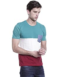 Guido & Coop Men's Stylish Casual Cotton T-Shirt/Fashionable Half Sleeve T-Shirt For Men/Round Neck Regular Fit...