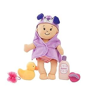 Manhattan Toy 314370Wee Baby Stella Suave muñeca y baño Set